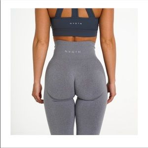 NVGTN grey contour leggings. In great condition!